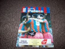 Crystal Palace v Blackburn Rovers, 1988/89 [PO]